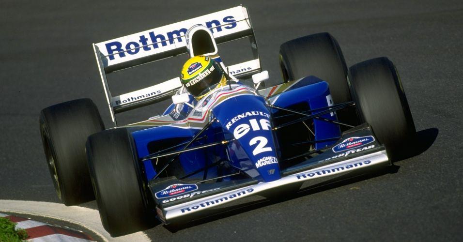 Na Williams, em 1994, Ayrton Senna sofreu acidente fatal