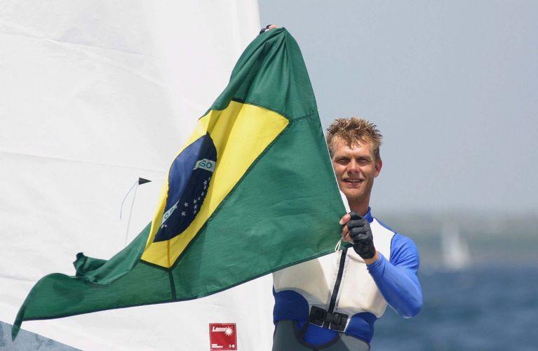 Sem rivais à altura, Robert Scheidt conquista mais um título pan-americano na Laser