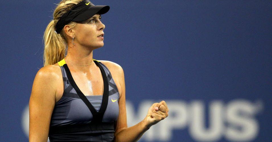 Russa Maria Sharapova foi campeã do Aberto dos EUA em 2006