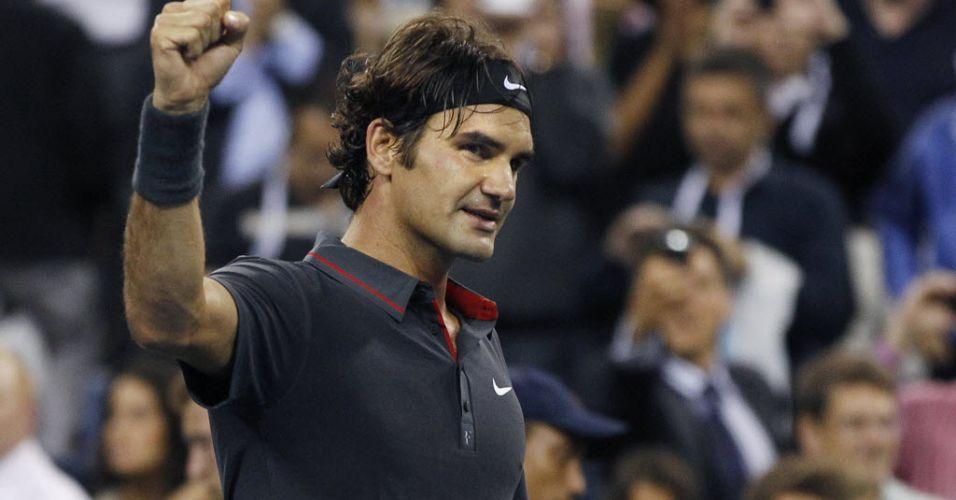 Suíço Roger Federer mantém a boa forma aos 30 anos