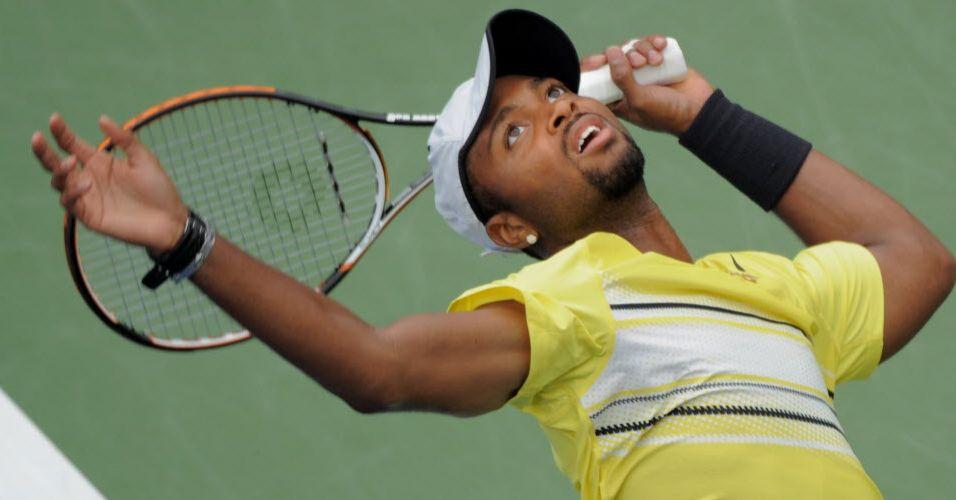 Donald Young é uma das promessas do tênis norte-americano e chegou às oitavas do Aberto dos EUA