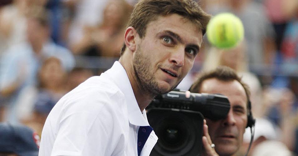 Francês Gilles Simon chegou às oitavas de final do Aberto dos EUA de 2011
