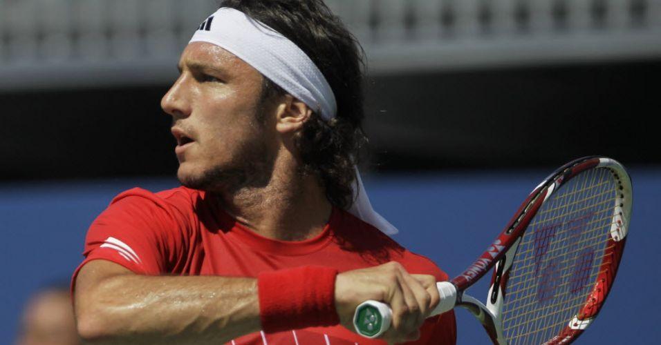 Argentino Juan Monaco só perdeu para Roger Federer no Aberto dos EUA de 2011