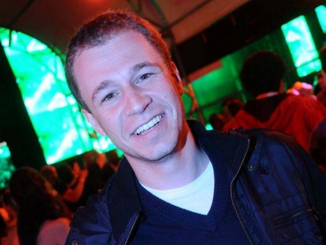 Tiago Leifert, apresentador da edição de São Paulo do Globo Esporte e do Central da Copa