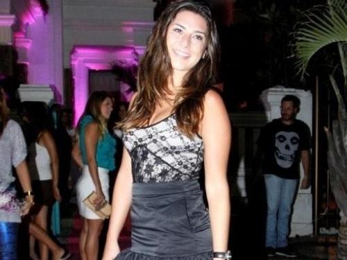 Fernanda Paes Leme na festa de lançamento do programa