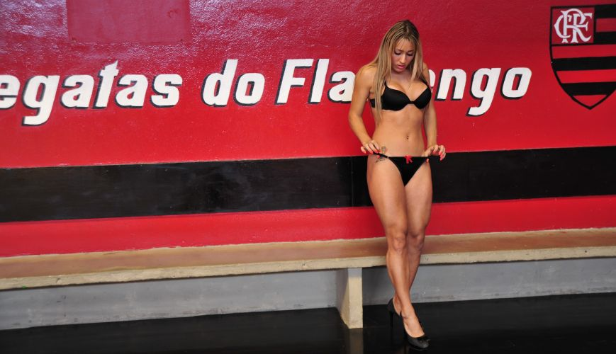 Cris Lopes, gata do Flamengo