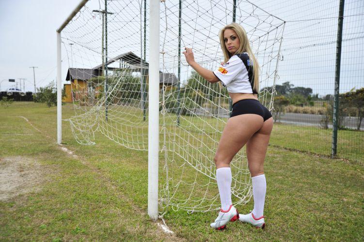 Jéssica Lopes é a gata do Vasco