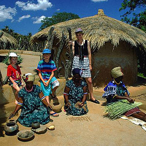Vibrante e colorida, Polokwane tem cultura ao céu livre e é terra dos povos Bakone e Ndebele