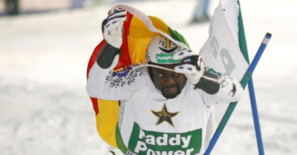 Kwame Nkrumah-Acheampong é o primeiro atleta de Gana nas Olimpíadas de Inverno