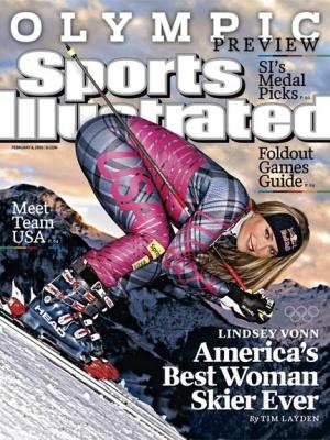 Capa da revista Sports Illustrated com Lindsey Vonn