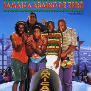 Capa do filme Jamaica Abaixo de Zero, de 1993