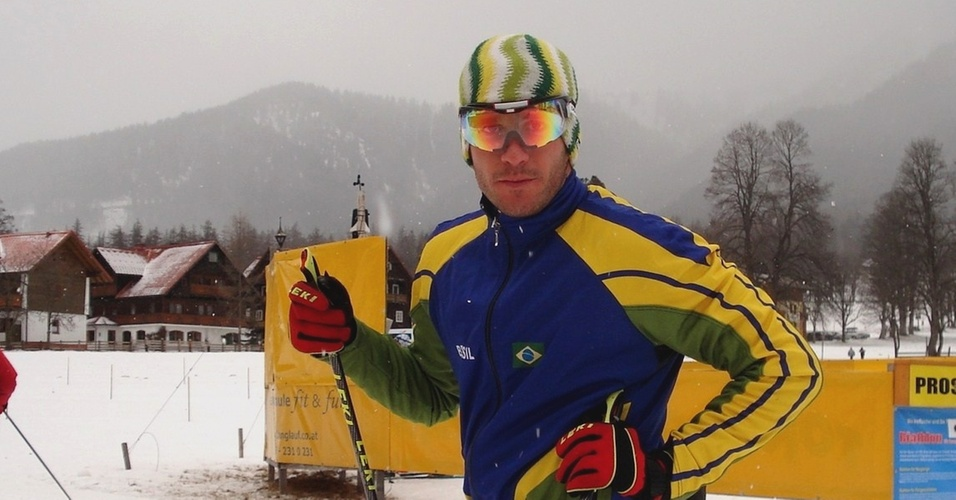 Leandro Ribela representa o Brasil no cross country nos Jogos de Inverno de Vancouver