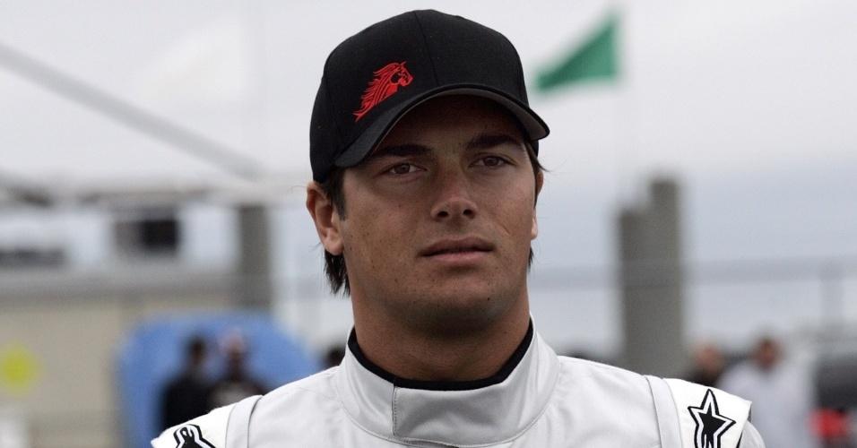 Nelsinho Piquet se prepara para estrear na ARCA, categoria de acesso à Nascar