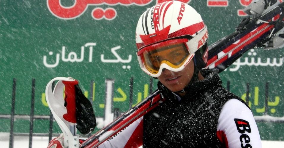 Marjan Kalhor é a primeira iraniana nos Jogos de Inverno