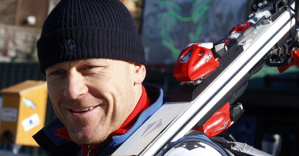 Didier Cuche, suíço do esqui alpino