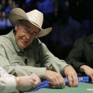 Lenda viva do pôquer, Doyle Brunson comemorou o reconhecimento da modalidade como esporte