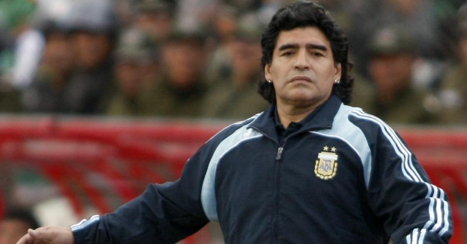 TOP5 - Maradona assiste seu time ser goleado pela Bolívia por 6x1