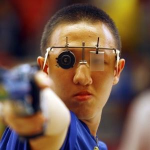 Felipe Wu conquistou a prata da Pistola 10m dos Jogos Olímpicos da Juventude Cingapura 2010