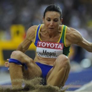 Maurren Maggi: campeã olímpica está se recuperando de uma operação no joelho