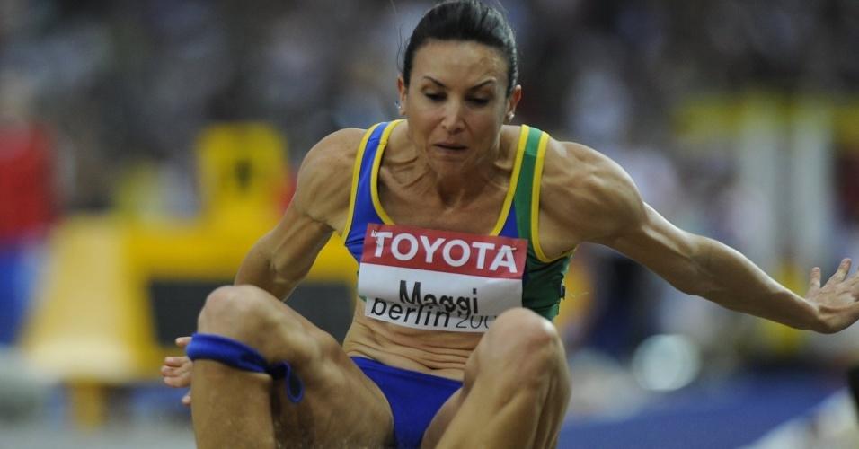 Maurren Maggi, atleta do salto em distãncia