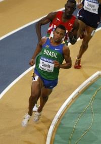 Kléberson Davide não conseguiu vaga às semifinais nos 800m