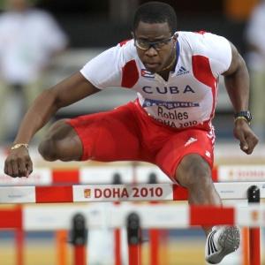 Campeão olímpico e recordista mundial nos 110 m com barreiras, Dayron Robles conquista título no Mundial indoor, em Doha, nos 60 m com barreiras
