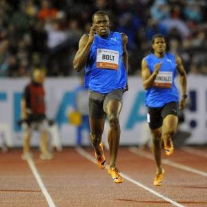 Última prova de Bolt havia sido em Ostrava
