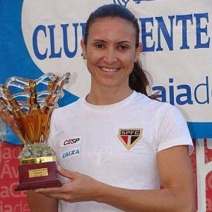 Brasileira Maurren Maggi venceu a prova de salto em distância no Meeting de Ávila