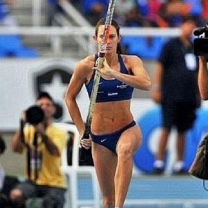 Fabiana Murer conquistou ouro na etapa dos EUA