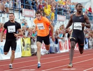Justin Gatlin conquista prova dos 100m na Estônia