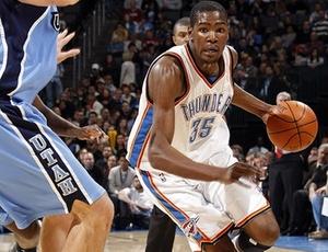 Kevin Durant, do Oklahoma City Thunder, será uma das novidades da edição 2010 do <i>All-Star Game</i>
