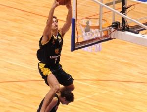 Rafael Mineiro, do São José, venceu o Torneio <br>de Enterradas do Jogo das Estrelas do NBB