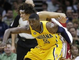 Anderson Varejão teve boa atuação e ajudou os Cavaliers a confirmarem título da Divisão Central