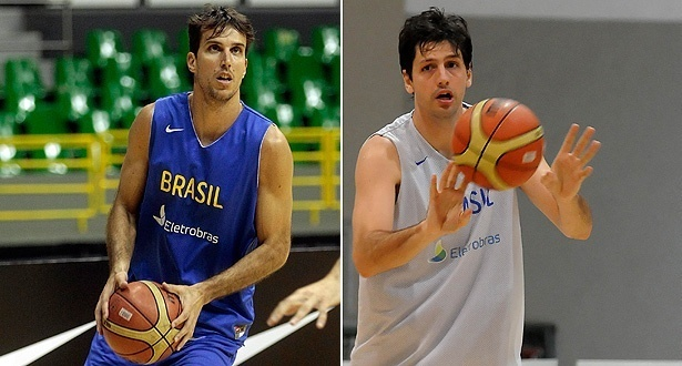 Marcelinho Machado e Guilherme Giovannoni