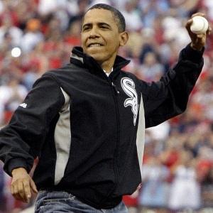 Obama arremessa no All-Star Game em 2009; presidente abrirá temporada em tradição centenária