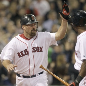 Kevin Youkilis foi o destaque da virada do Red Sox