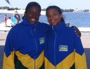 Luciana Costa e Camila Conceição conquistaram medalha de bronze em competição na Polônia