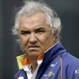 Flávio Briatore foi chefe da Renault, até o escândalo da batida proposital de Nelsinho em Cingapura