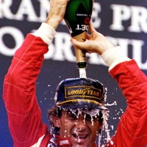Em votação com 217 pilotos, o tricampeão Ayrton Senna foi eleito o melhor de todos os tempos