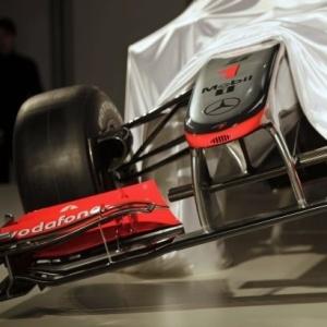 A McLaren assumiu que o projeto do novo carro, o MP4-25, foi baseado no conceito do difusor duplo