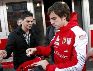 Alonso voltou a falar sobre a sua relação com Massa