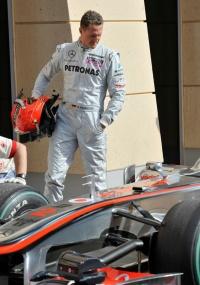 Michael Schumacher fez no Bahrein a sua reestreia na F1