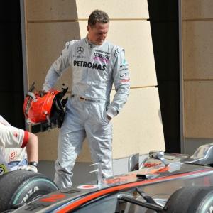 Motivo de Schumacher para não voltar à GPDA seria um desentendimento com Pedro de la Rosa