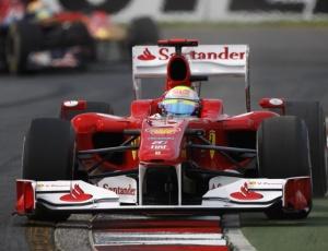 Felipe Massa ficou à frente de Alonso e terminou o primeiro treino livre em Melbourne em quarto lugar