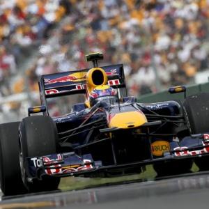 Mark Webber dominou terceira sessão de treinos