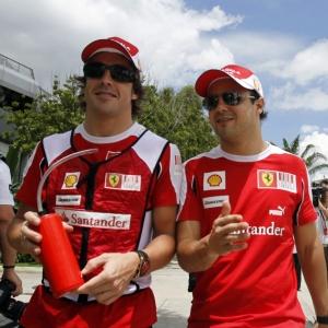 Mesmo perdendo a ponta para Massa, Alonso viu corrida em Sepang como a melhor de sua vida