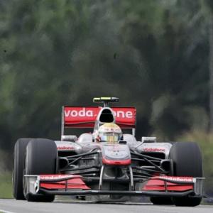 Lewis Hamilton ficou em sexto lugar no Grande Prêmio da Malásia, no autódromo de Sepang