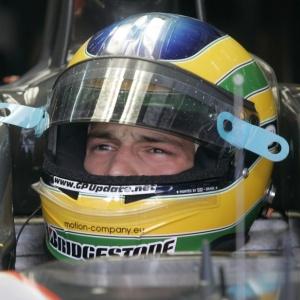 Bruno Senna conseguiu completar uma corrida pela primeira vez no GP da Malásia