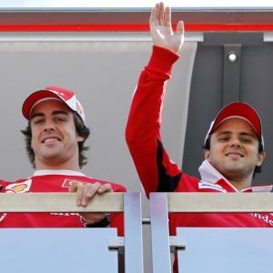 Alonso comemorou a renovação do brasileiro