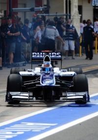 Rubens Barrichello larga em 9º